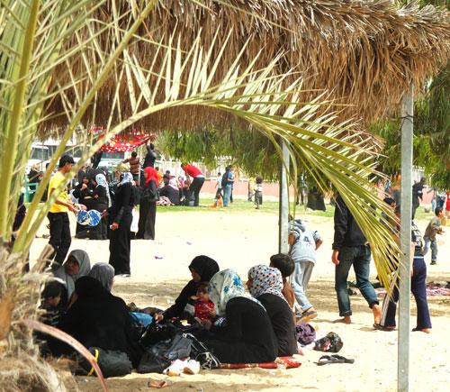 Kegembiraan di 'Taman Ria' Gaza